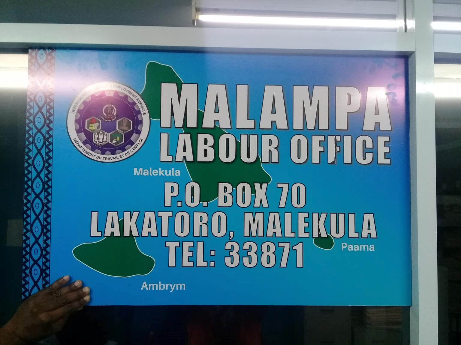 New Labour Office At Malampa Province